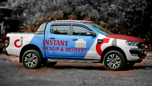 INSTANT PICKUP & DELIVERY